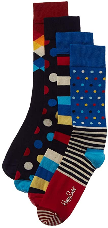valentine day gifts for him Happy Socks Men's Stripe Gift Box