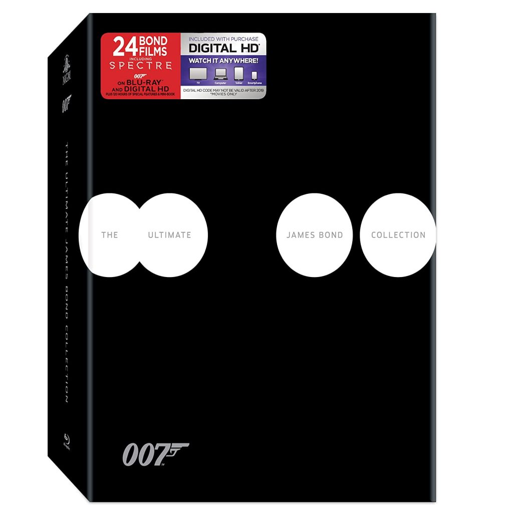 valentine day gifts for him The Ultimate James Bond Collection