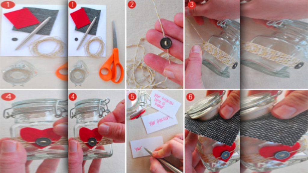 valentine day homemade gift ideas A jar of reasons why you love him
