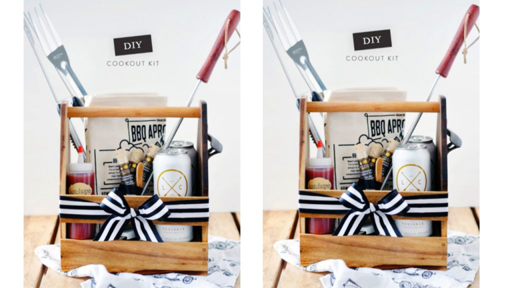 valentine day homemade gift ideas DIY cookout kit