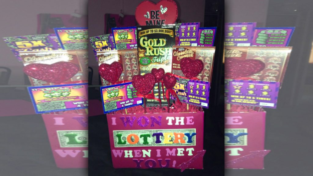 valentine day homemade gift ideas Lottery point-of-sale display