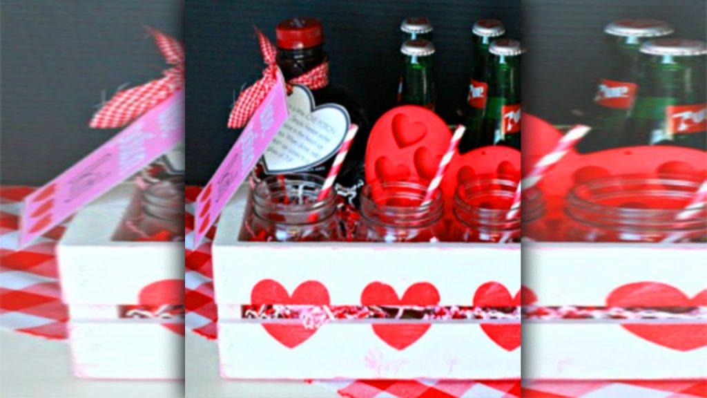 valentine day homemade gift ideas The love potion kits