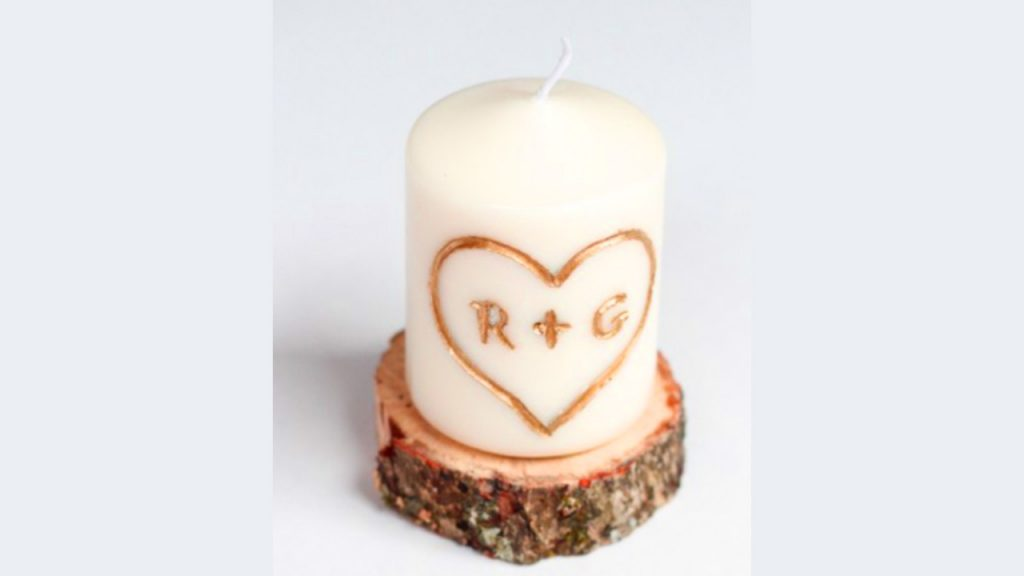 valentine day homemade gift ideas candle