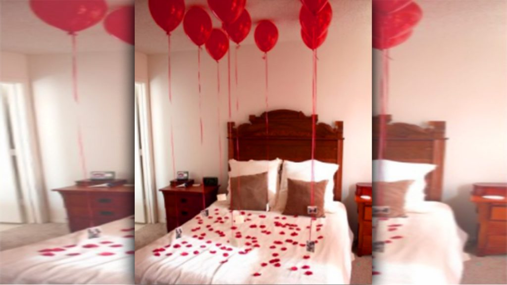 valentine day homemade gift ideas decorate bedroom
