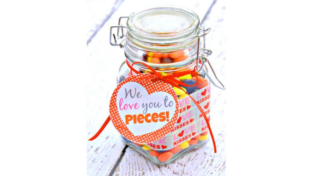 valentine day homemade gift ideas jar gift
