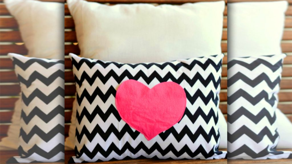 valentine day homemade gift ideas pillow