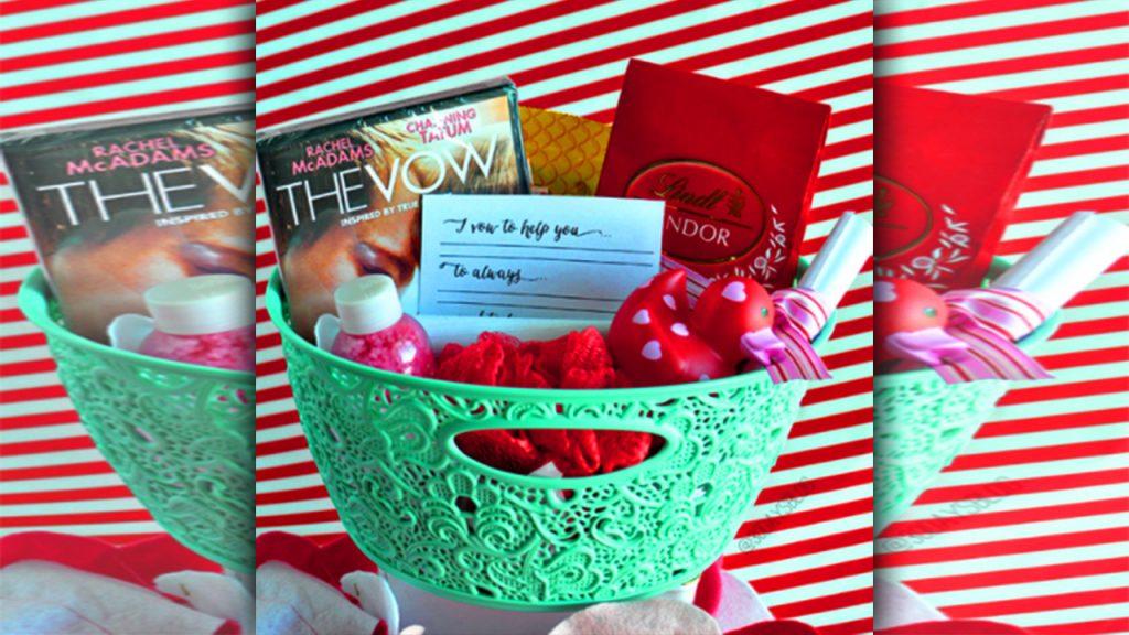valentine day homemade gift ideas valentine day basket