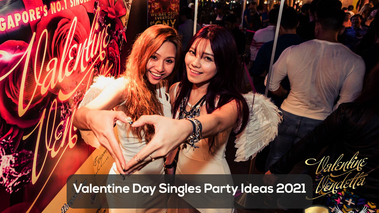 valentine day singles party ideas 2021