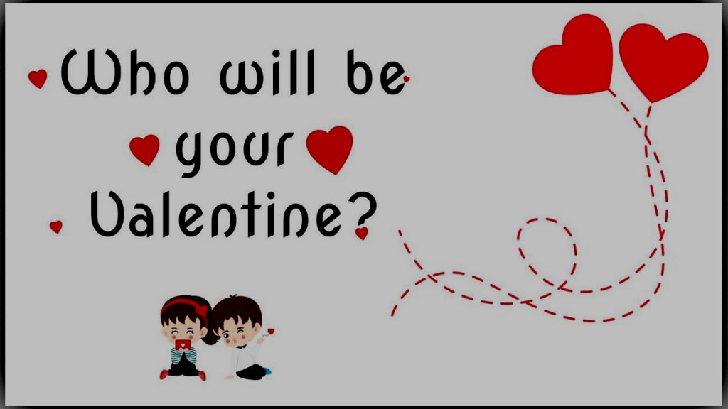 who is your valentine day GAME