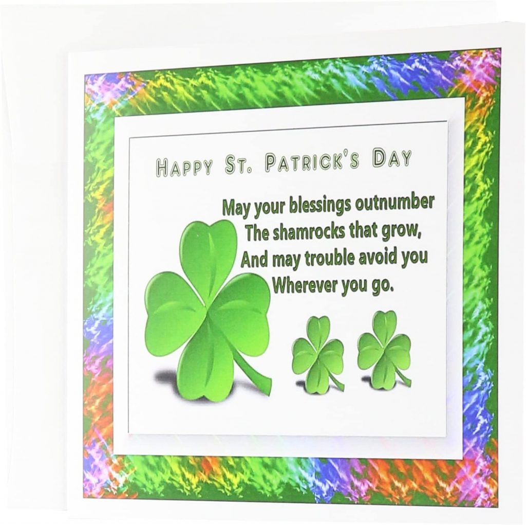 3dRose St Patricks Day - Greeting Cards st patrick's day cards