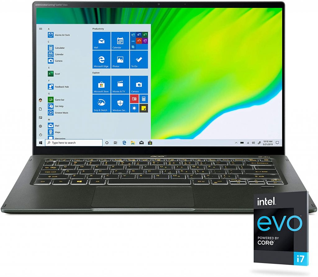 Acer Swift 5 Intel Evo Thin and Light Laptop international women's daygifts for employees