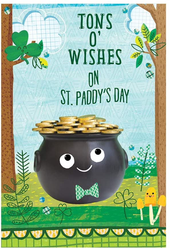 Designer greetings St. Patrick's Day Packaged Cards for Kids