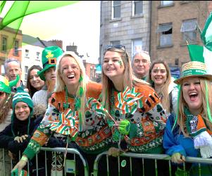 Does Ireland celebrate St Patrick's day 2021 irish streets