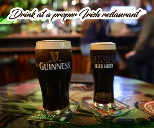 Does Ireland celebrate St Patrick's day driking pepsi irish