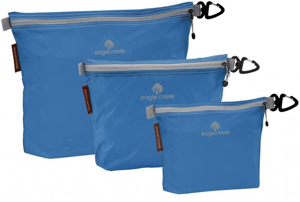 Eagle Creek Pack-it Specter Sac Set-3pc Set Brilliant Blue womens day gifts for mom 2021