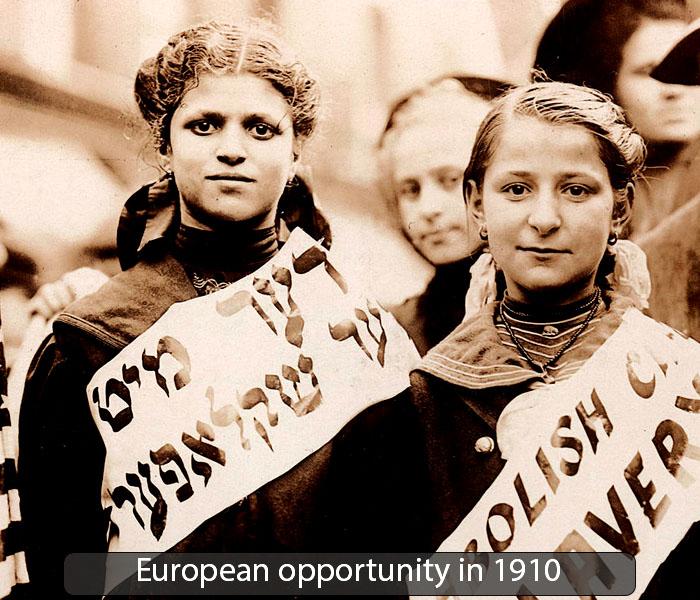 European opportunity in 1910