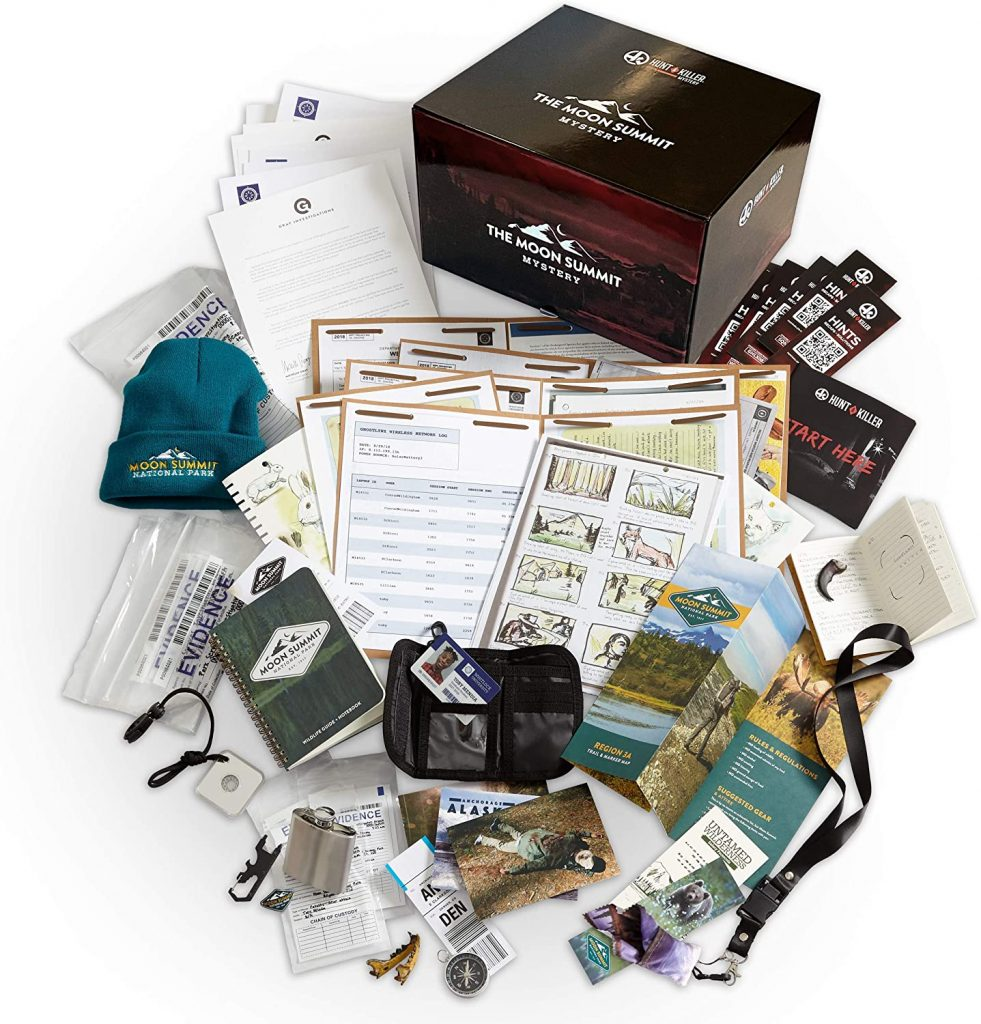Hunt A Killer The Moon Summit Mystery Complete Box women's gift for mom 2021