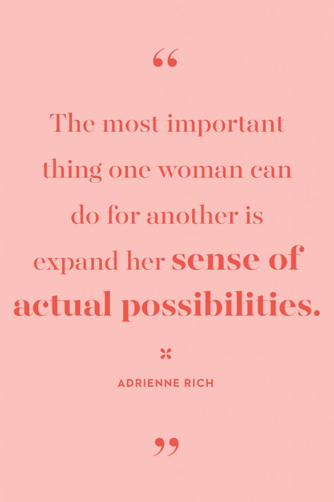 International Women's Day Quotes by Adrienne Rich