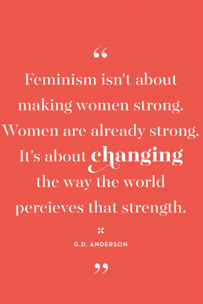 International Women's Day Quotes by G.D. Anderson quote