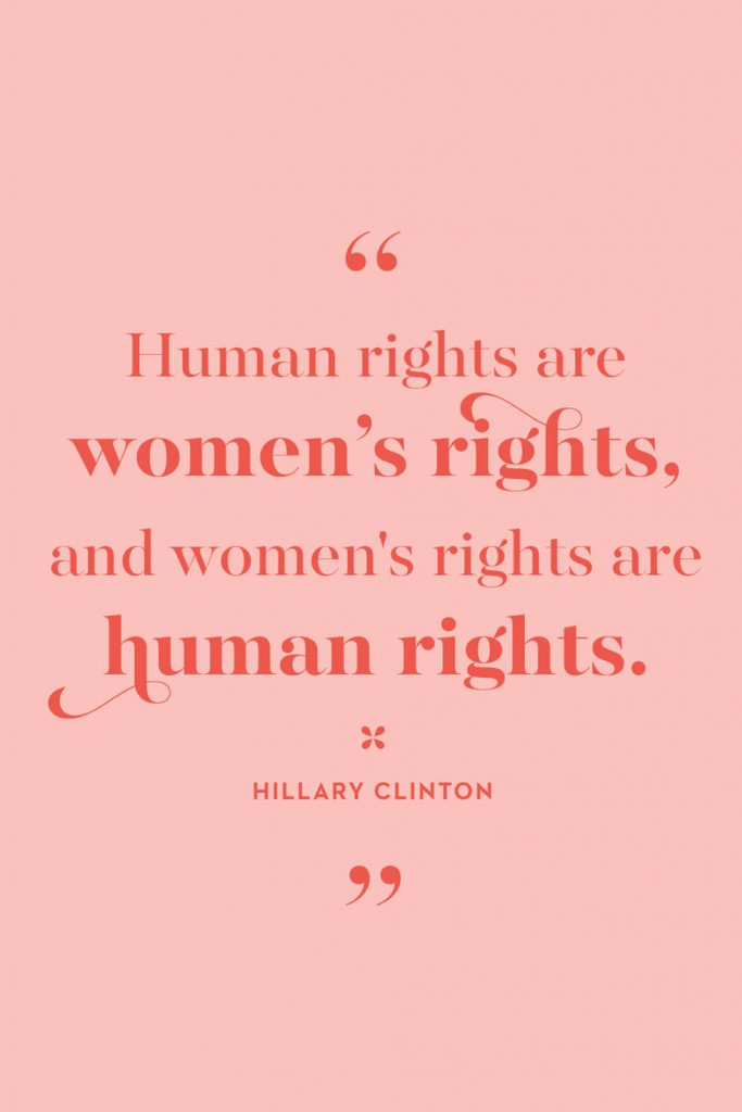 International Women's Day Quotes by Hillary Clinton