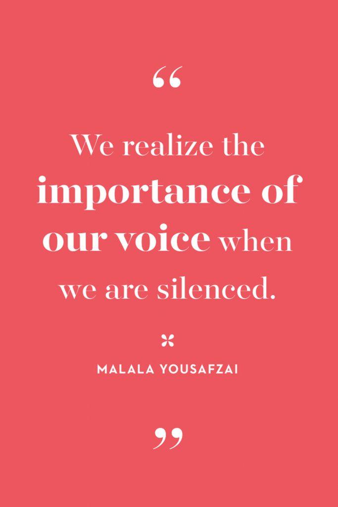 International Women's Day Quotes by Malala Yousafzai