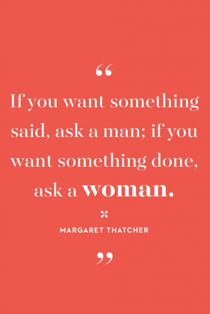 International Women's Day Quotes by Margaret Thatcher