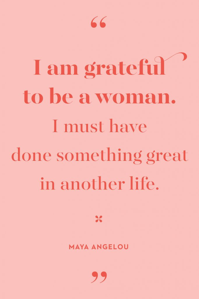 International Women's Day Quotes by Maya Angelou