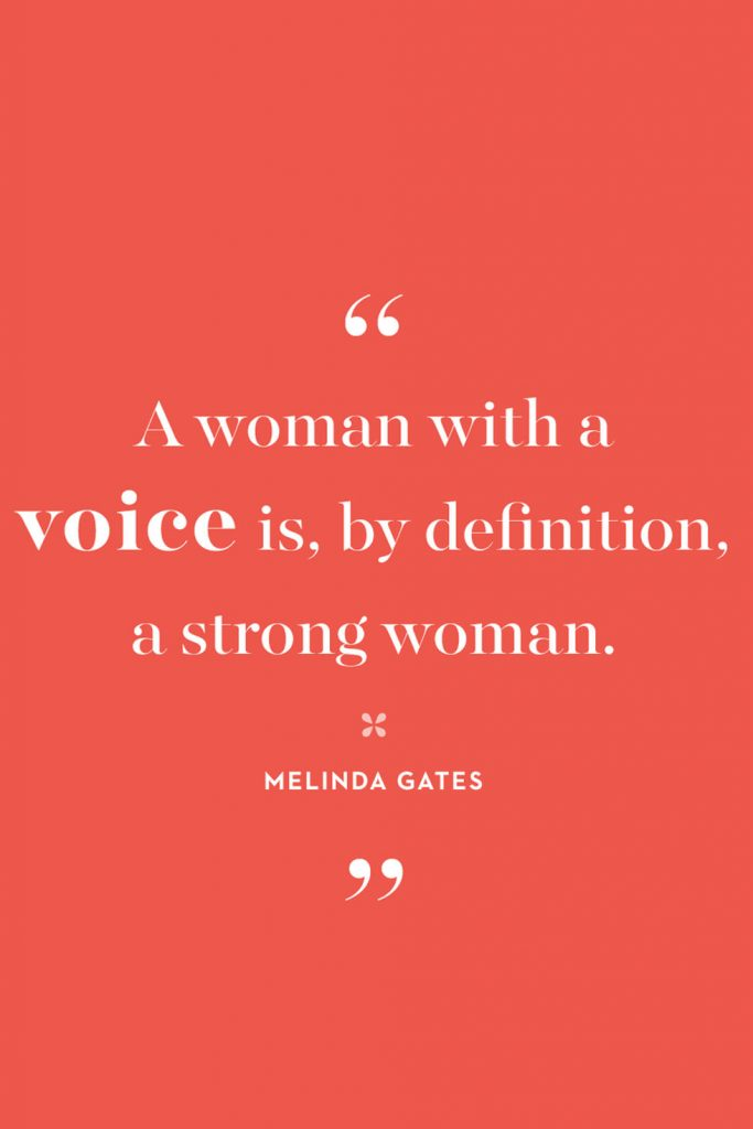 International Women's Day Quotes by Melinda Gates