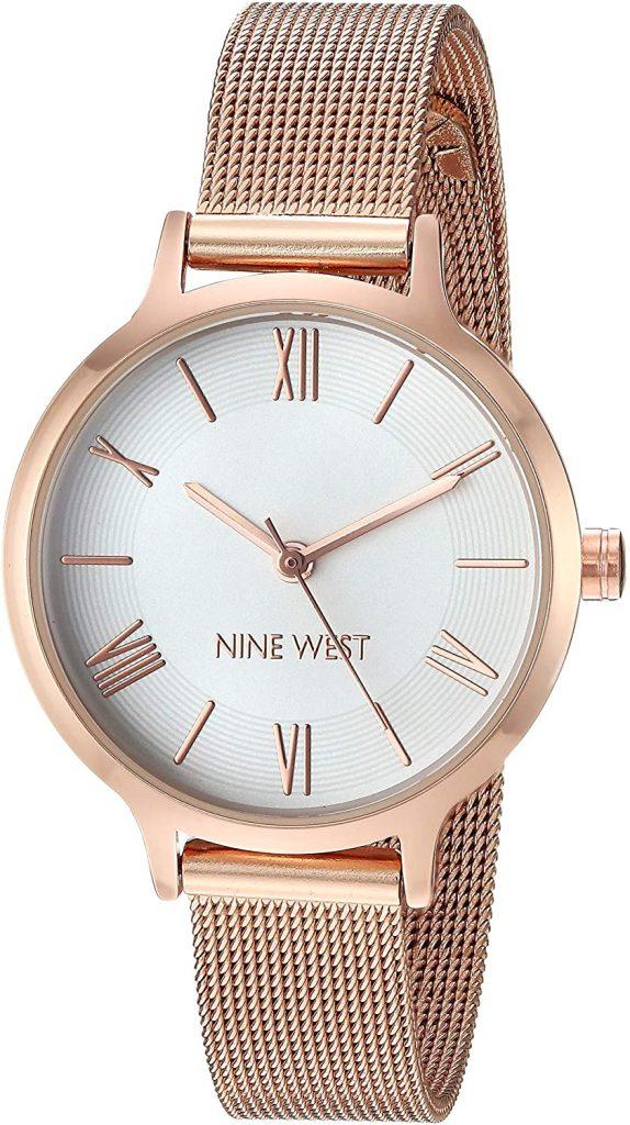 Nine West Women's Mesh Bracelet Watch