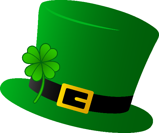 ST PATRICKS DAY CLIP ART HAT c with follower