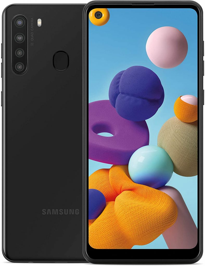 Samsung Galaxy A21 Factory Unlocked Android Cell Phone international women's daygifts for employees