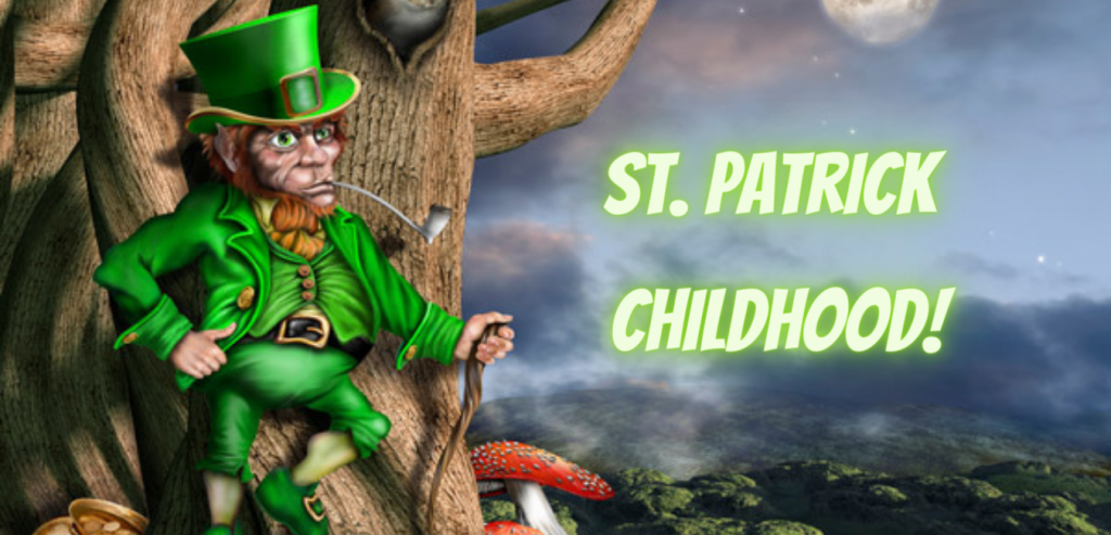 St Patrick's Day colors St. Patrick Childhood