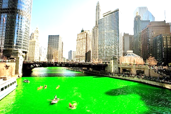 St. Patrick Day History green river