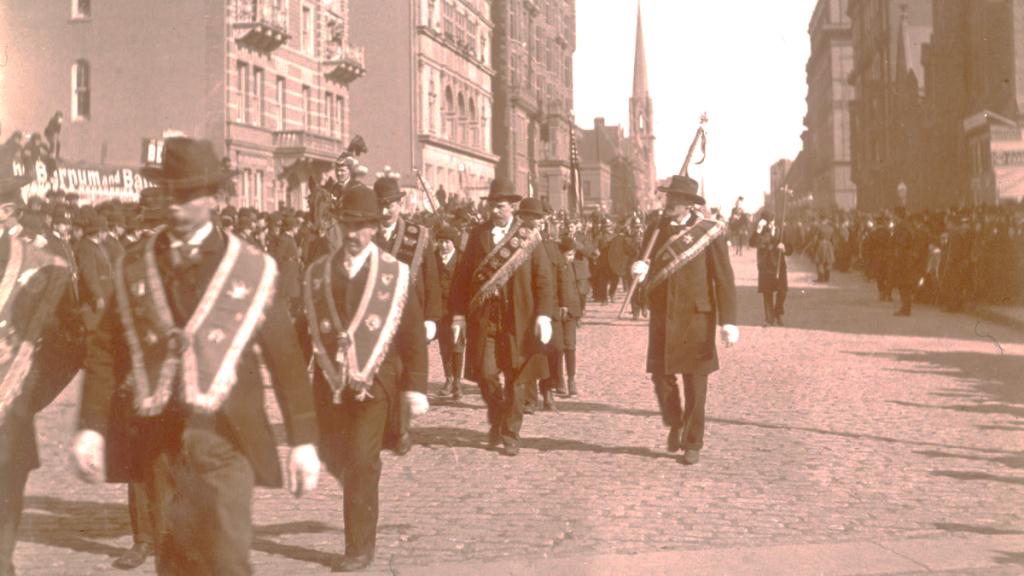 St. Patrick Day History parade