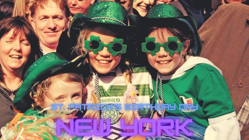 St. Patrick's Birthday Day in New York 2021