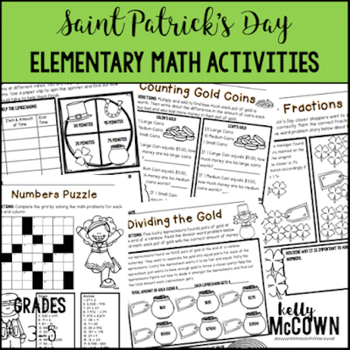 St. Patrick's Day Activities for Classroom