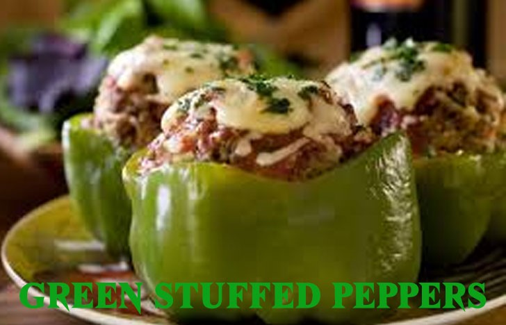 Grand St. Patrick's Day Appetizer Ideas of Green Stuffed Peppers