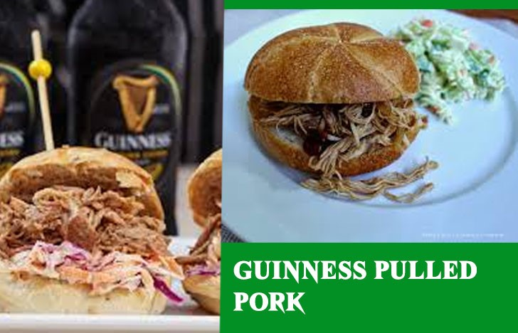 St. Patrick's Day Appetizer Ideas of Guinness Pulled Pork