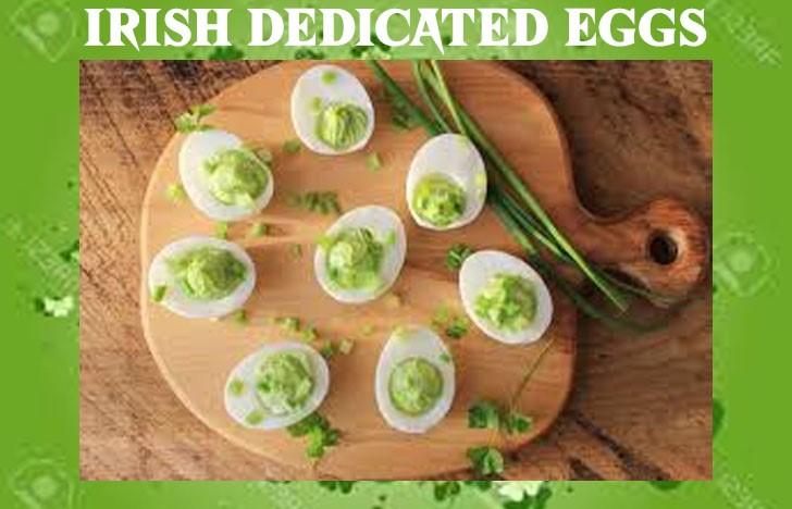 St. Patrick's Day Appetizer Ideas of Irish Dedicated Eggs