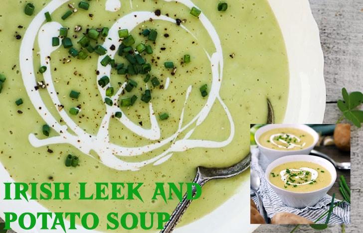 St. Patrick's Day Appetizer Ideas of Irish Leek and Potato Soup