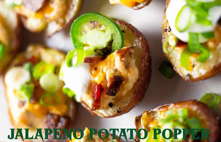 St. Patrick's Day Appetizer Ideas of Jalapeno Potato Popper
