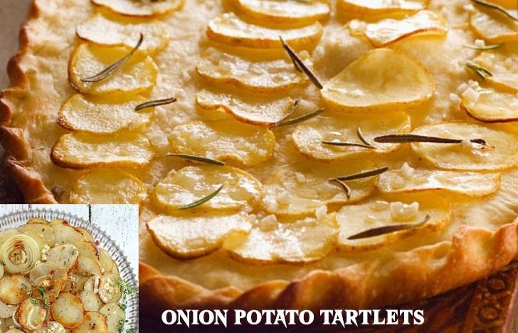 St. Patrick's Day Appetizer Ideas of Onion Potato Tartlets