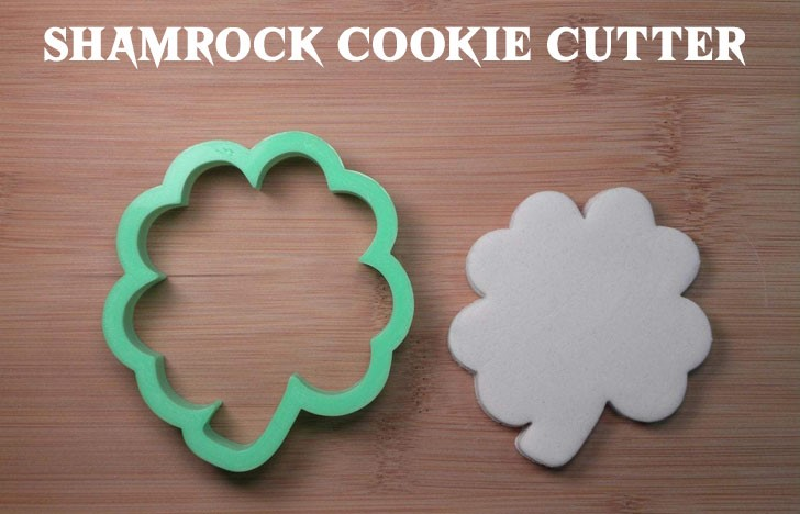 St. Patrick's Day Appetizer Ideas of Shamrock cookie cutter