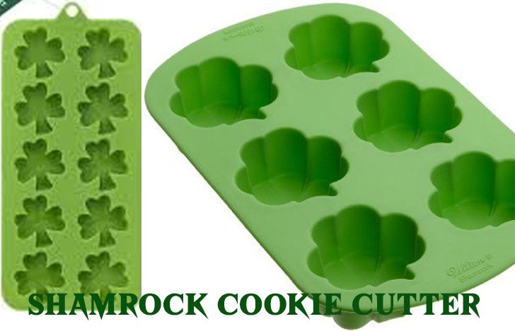 St. Patrick's Day Appetizer Ideas of Shamrock silicone mold