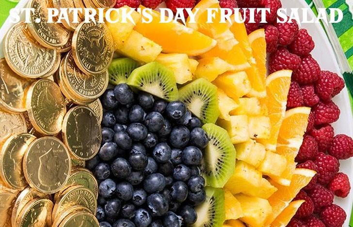 St. Patrick's Day Appetizer Ideas of St. Patrick's Day Fruit Salad