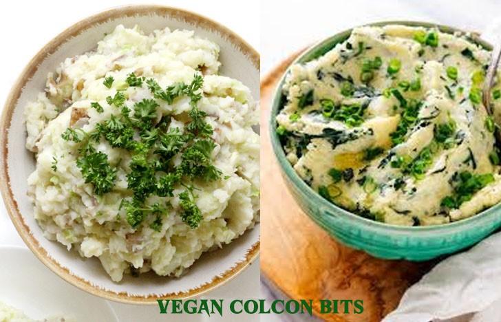 St. Patrick's Day Appetizer Ideas of Vegan Colcannon Bites