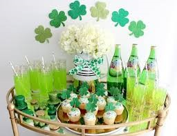 St. Patrick's Day Party Food basket Ideas