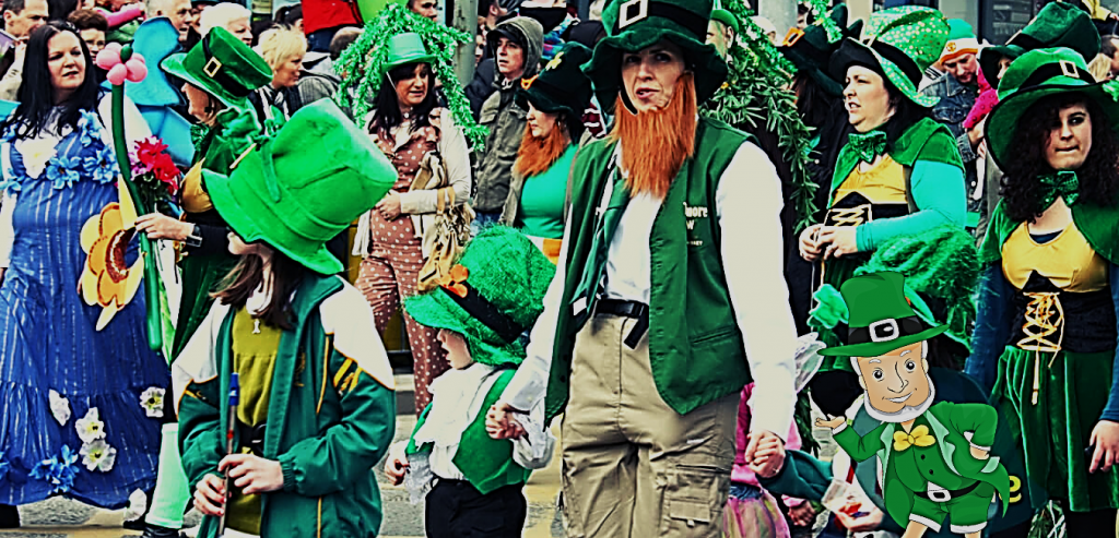 The Origins of St. Patrick's Day in america