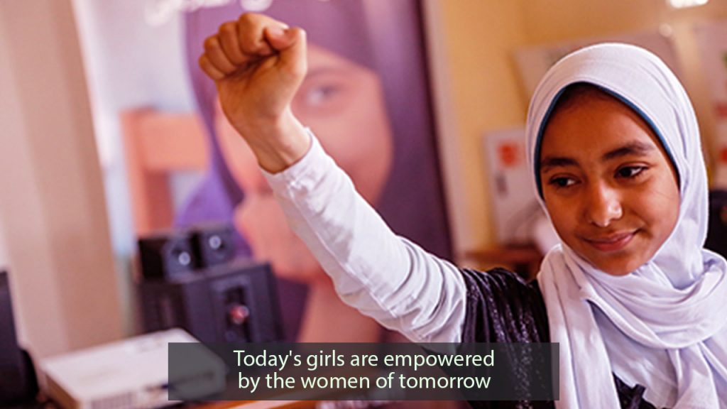 Today's girls are empowered by the women of tomorrow who are empowered canada