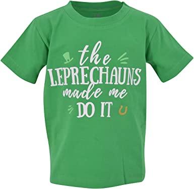 Unique Baby Boys Leprechauns Made Me St Patricks Day T Shirt 2021
